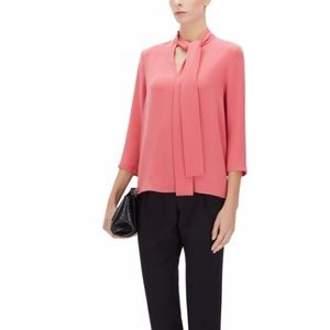 BOSS Tie Front Top | Lasena - light red
